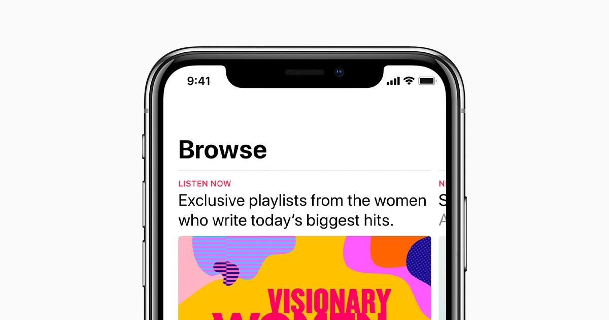 scaricare musica per iphone x