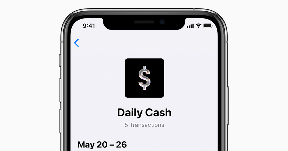 Get unlimited Daily Cash with Apple Card - Apple Support