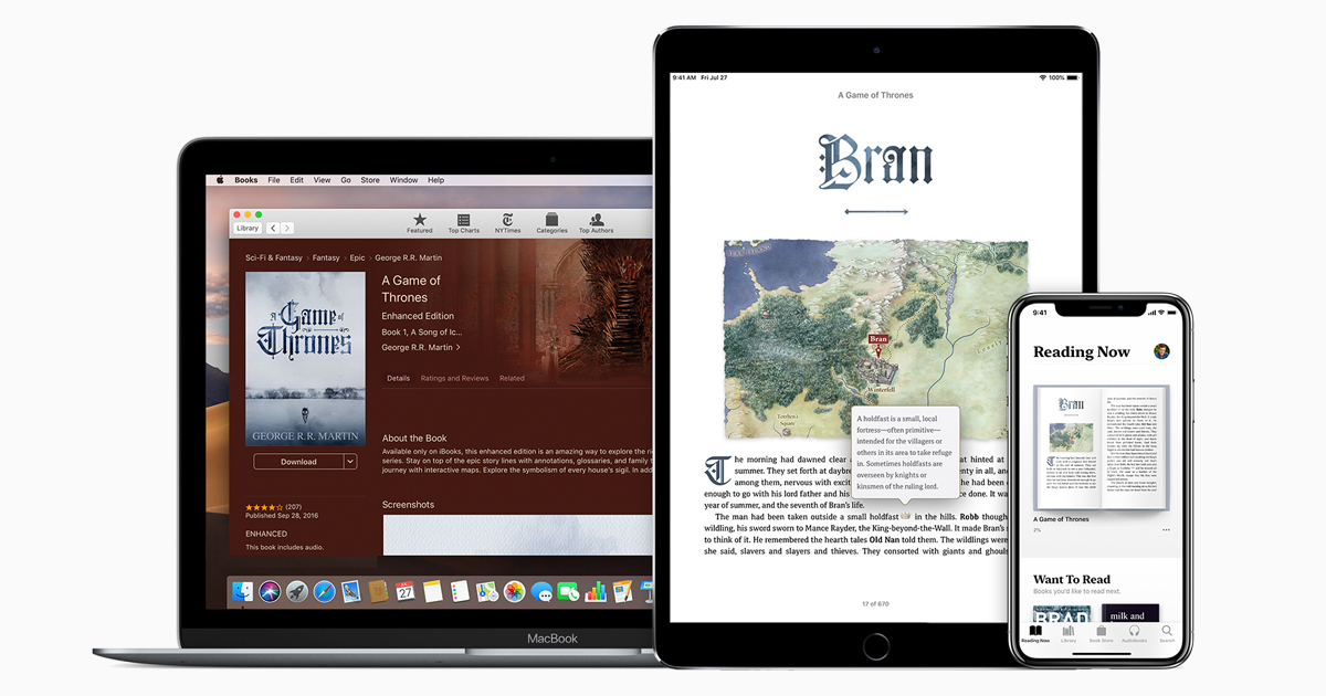 Read Books And More With Apple Books Apple Support