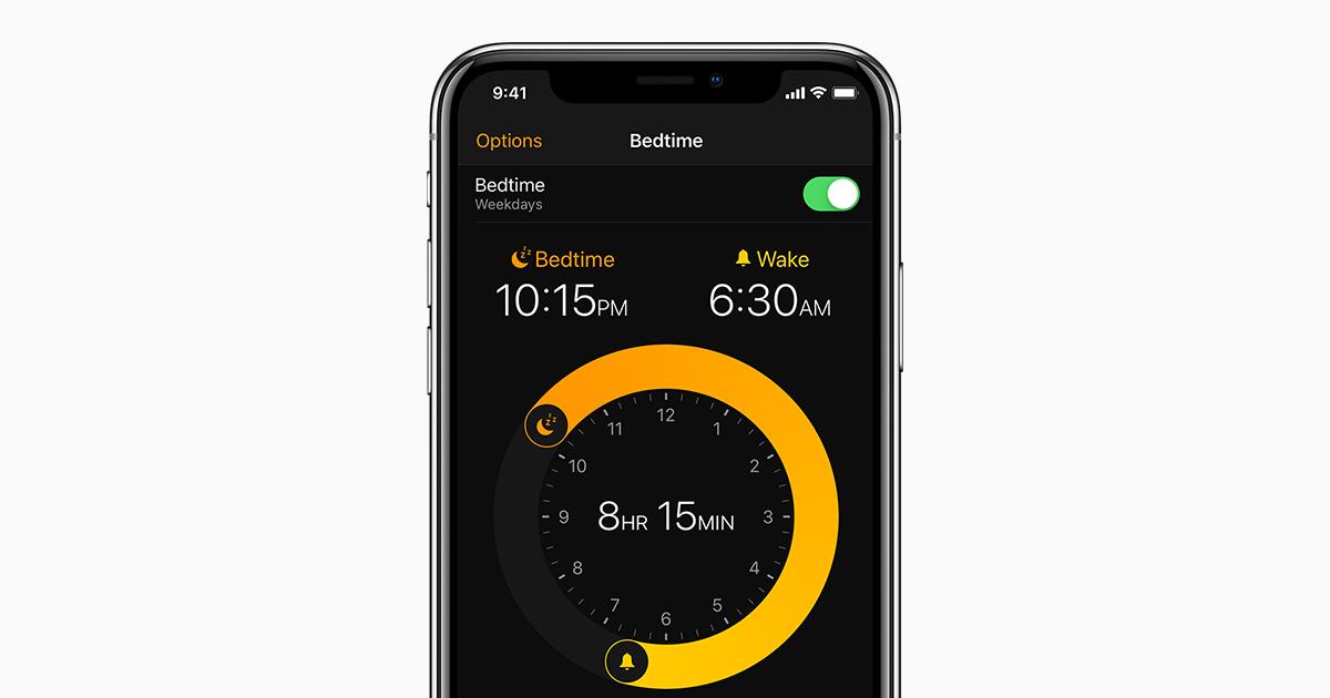 Usare sonno per monitorare il sonno con iphone supporto apple