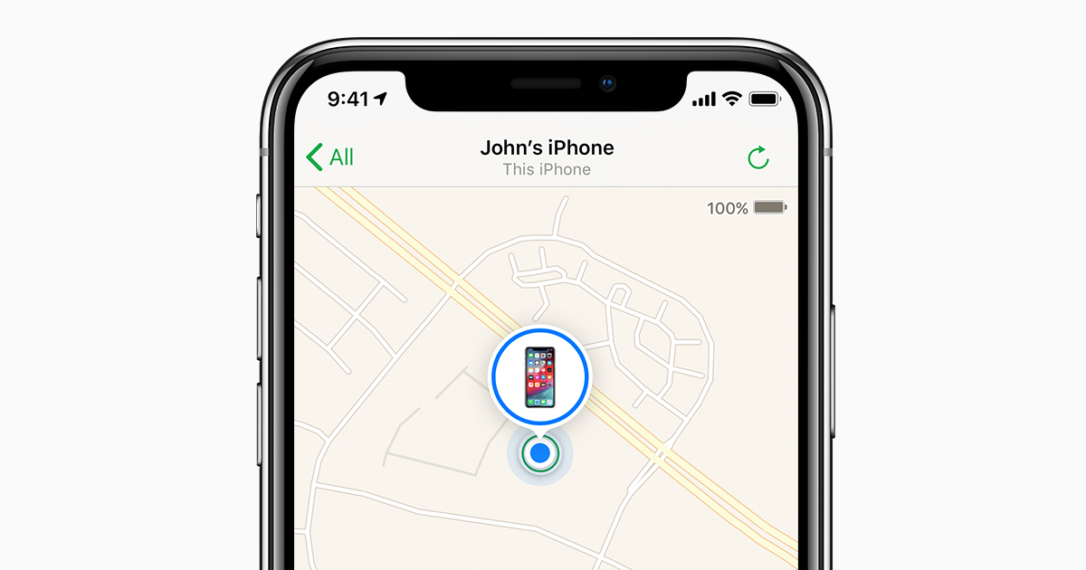 Set Up Find My Iphone Le Support