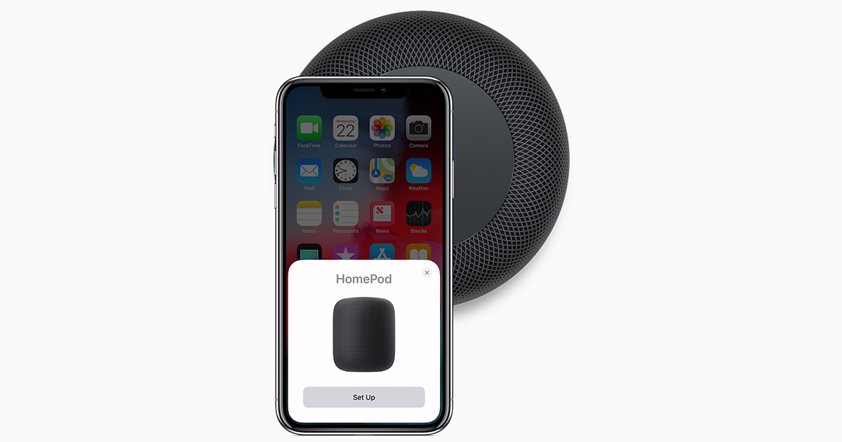 Set Up And Use Homepod Apple Support