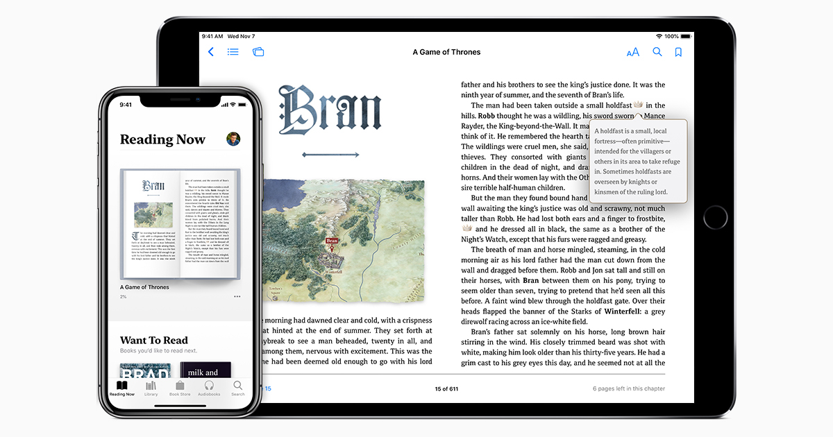 Read books and more with Apple Books on your iPhone, iPad