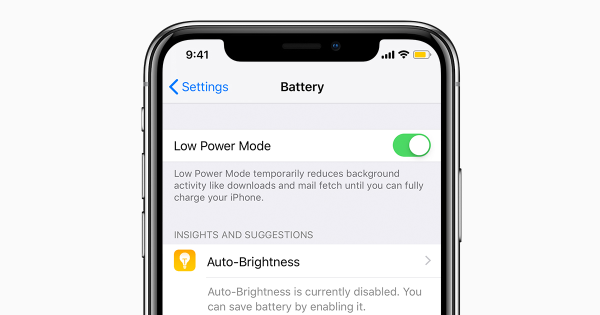 Use Low Power Mode to save battery life on your iPhone