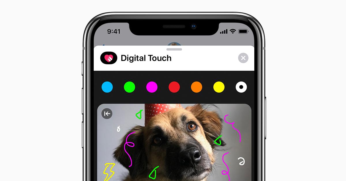 Utilisation De La Fonctionnalité Digital Touch Sur Votre