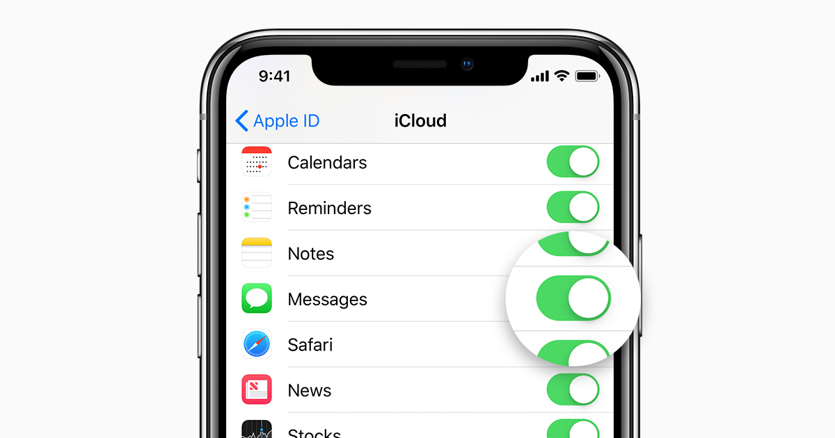 Keep all your messages in iCloud - Apple Support