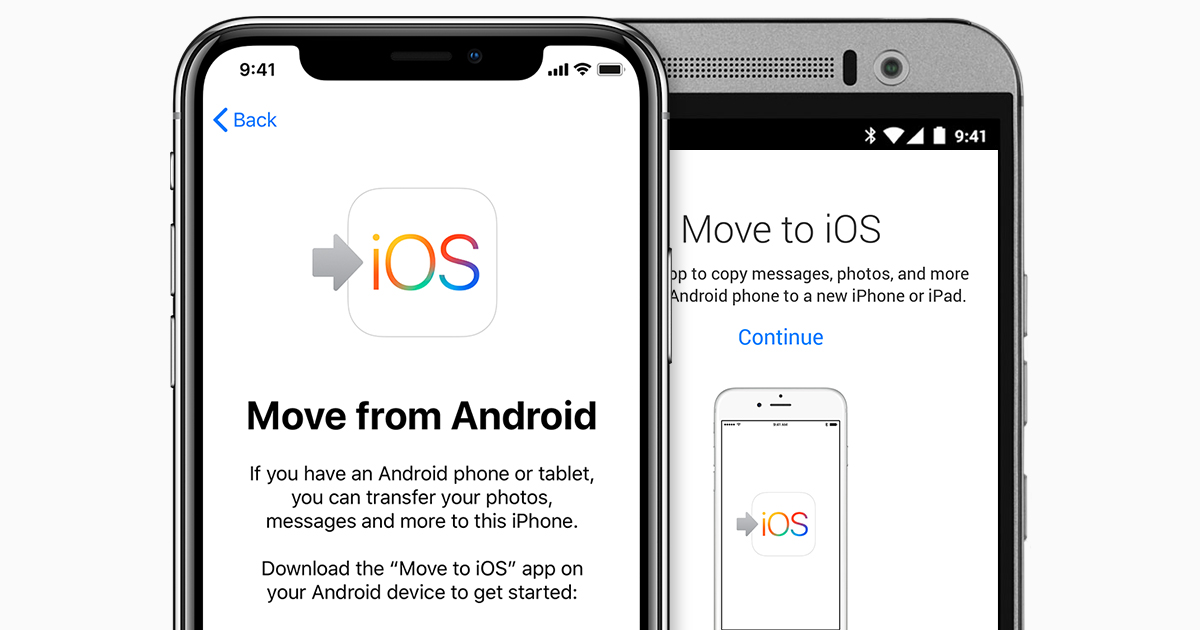 app to transfer from android to iphone move from android to iphone or ipod touch apple 19676
