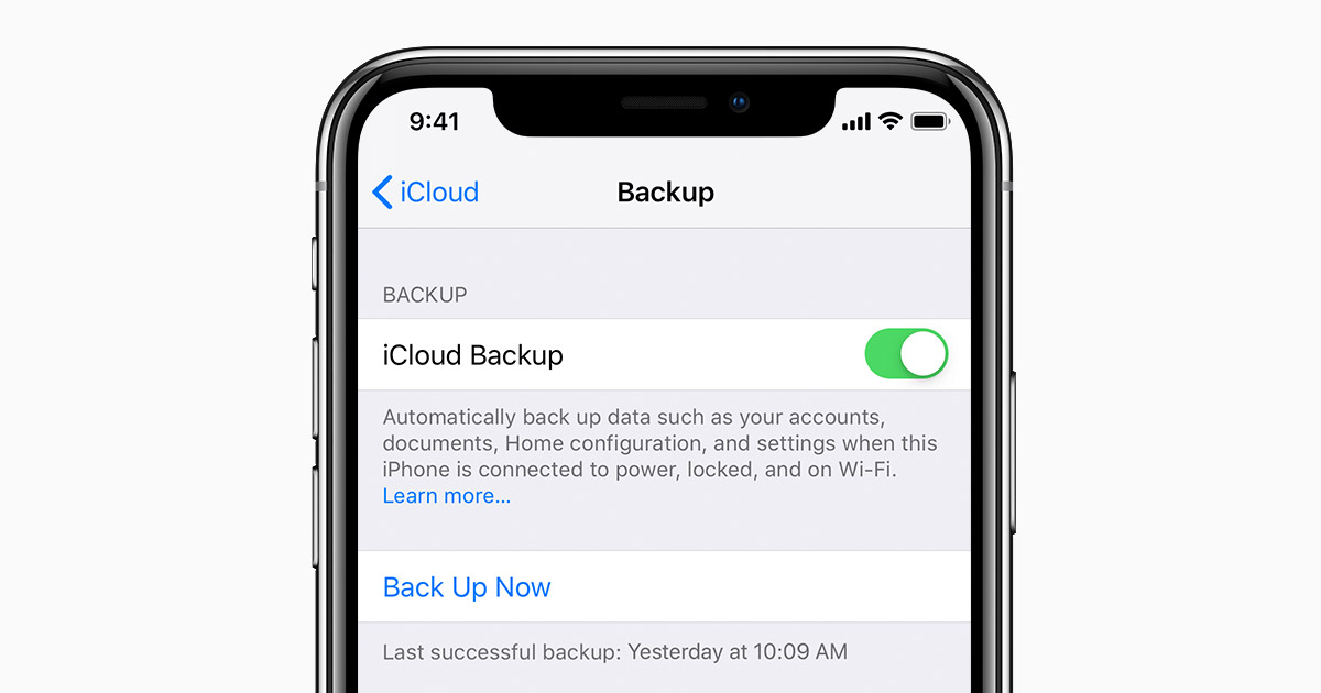 Apple ipad backup location