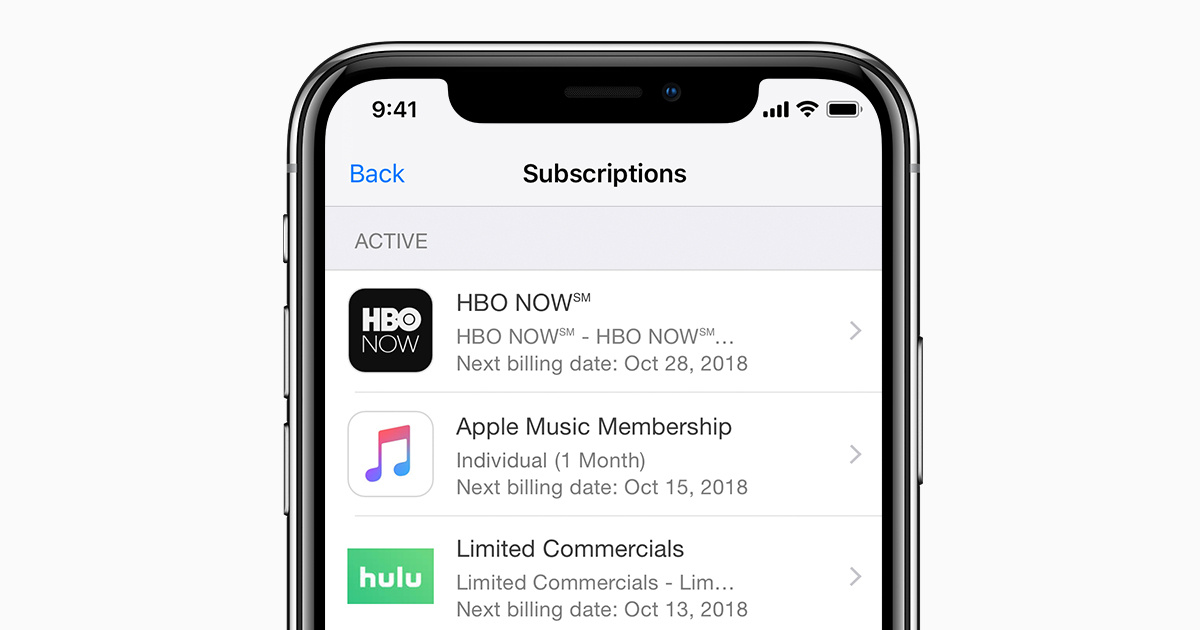 View, change, or cancel your subscriptions - Apple Support
