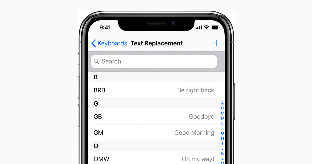 How to use Auto-Correction and predictive text on your