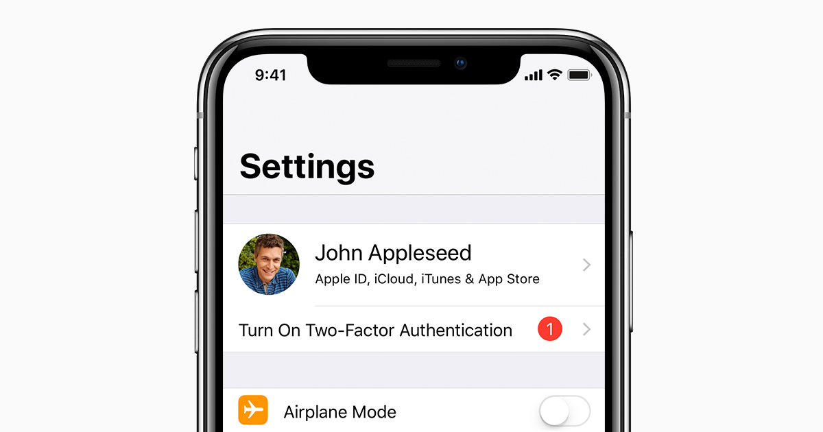 Two-factor authentication for Apple ID - Apple Support