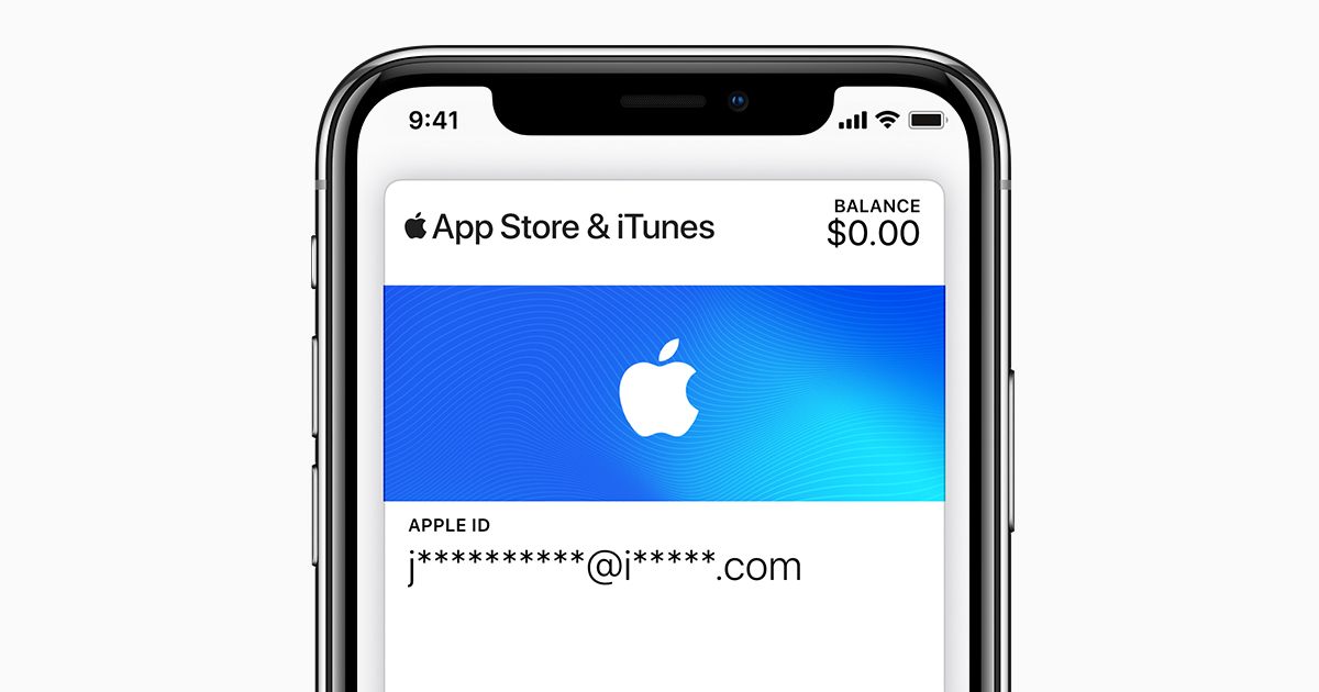 إنشاء Itunes Pass وإضافة أموال إليها Apple الدعم