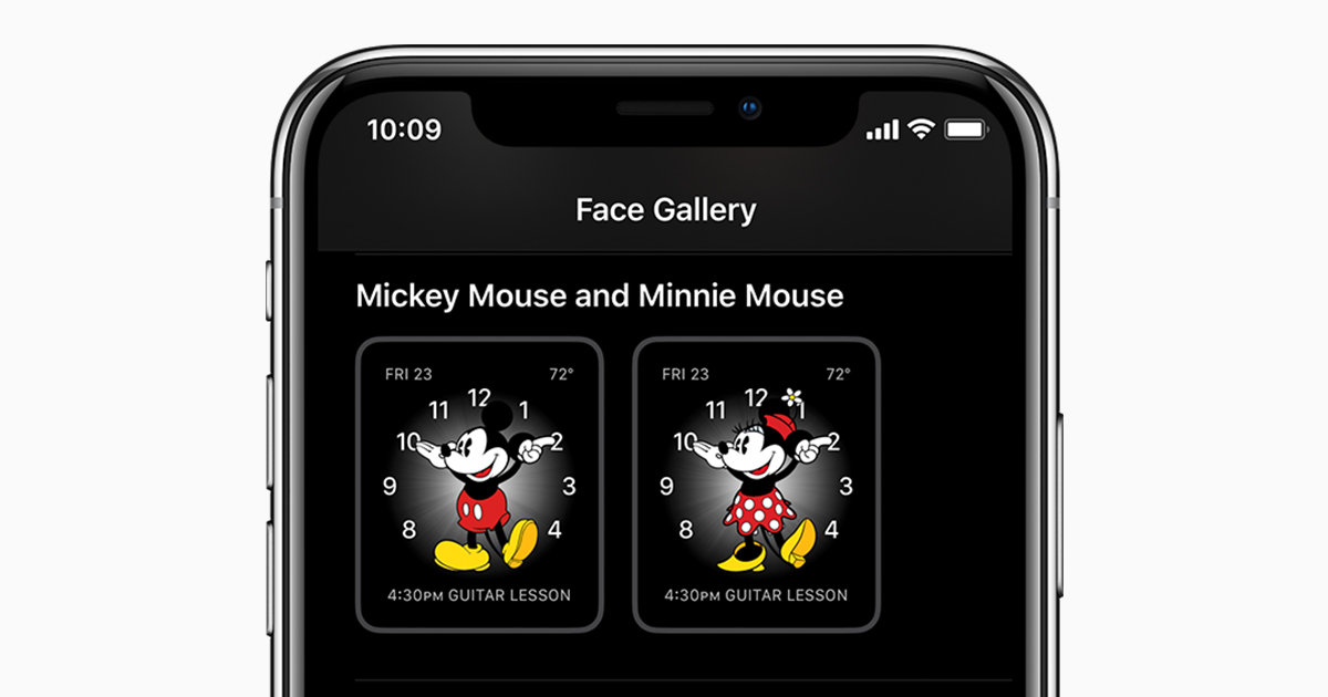 Hear Mickey Mouse Or Minnie Mouse Speak The Time Apple Support