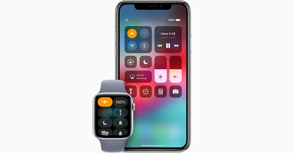 75271c73b Utilisation du mode Avion sur votre iPhone, iPad, iPod touch et Apple Watch  - Assistance Apple