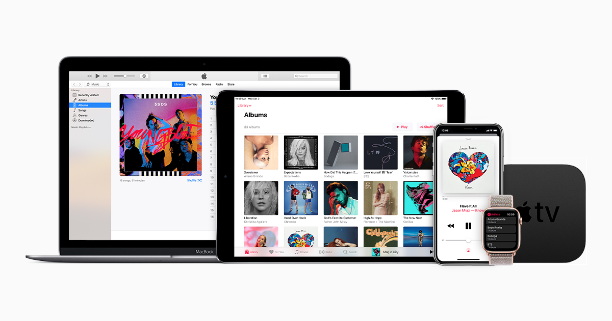 Access your music collection on all of your devices with