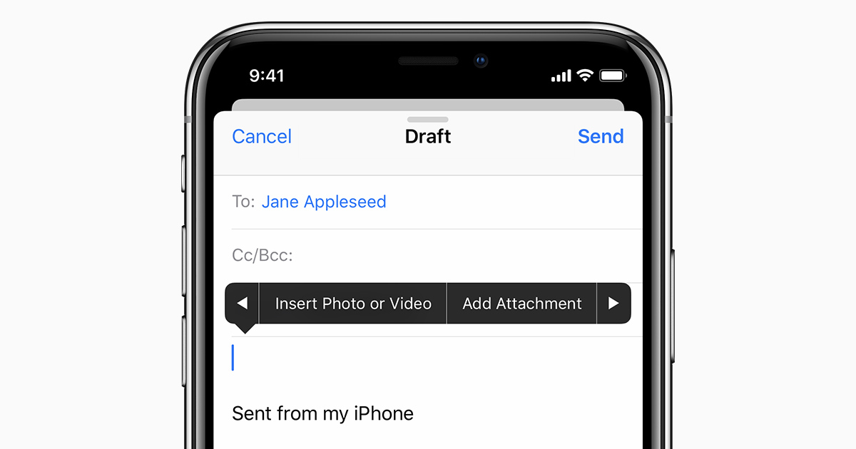 How To Send Attachments In Mail On Your Iphone Ipad And Ipod Touch