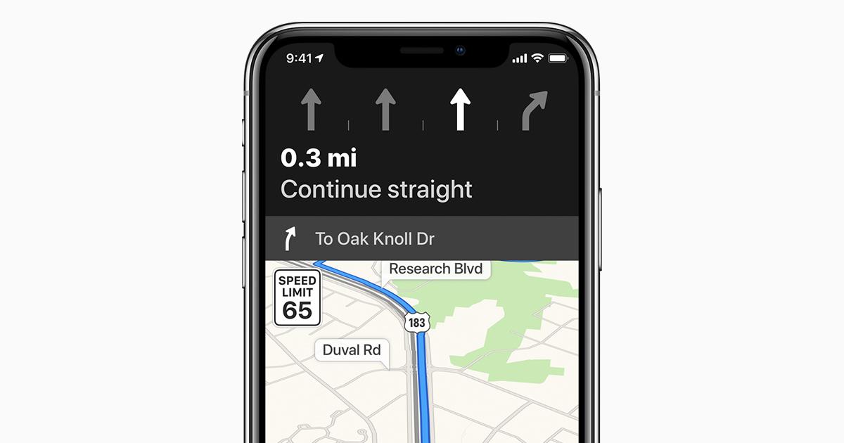 240310ec50d38 Usar o Mapas no iPhone