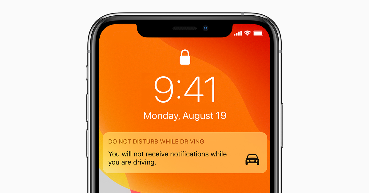 How To Use Do Not Disturb While Driving Apple Support