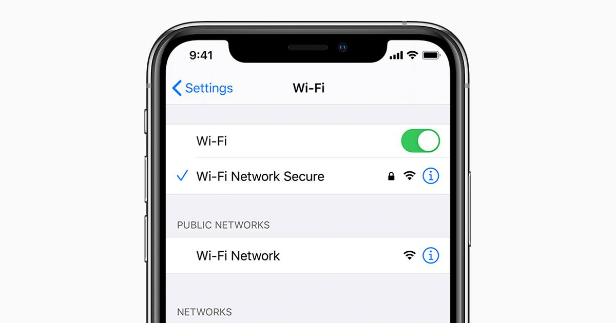 Verbinding Maken Met Wifi Op Een Iphone Ipad Of Ipod Touch