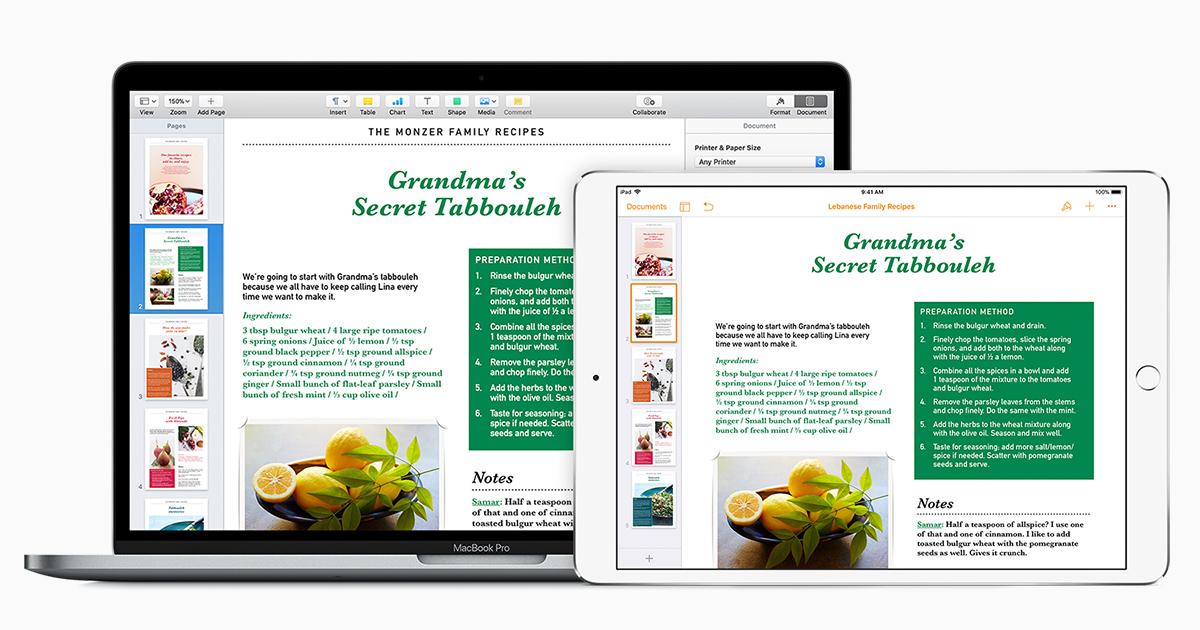 Dokumente in Pages einrichten - Apple Support