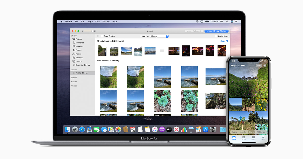 Transfer Photos And Videos From Your Iphone Ipad Or Ipod Touch Apple Support