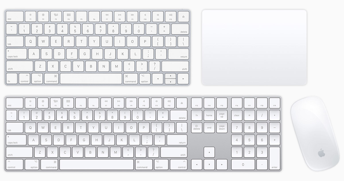 Mus og tastatur Mac tilbehør Apple (NO)