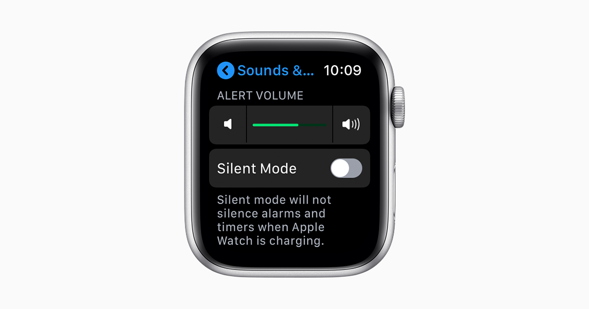 Change The Audio And Notification Settings On Your Apple Watch