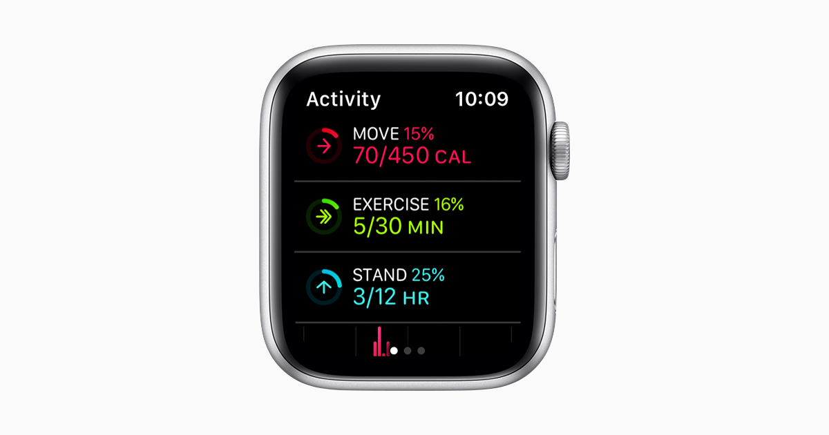 Activity app on your Apple Watch