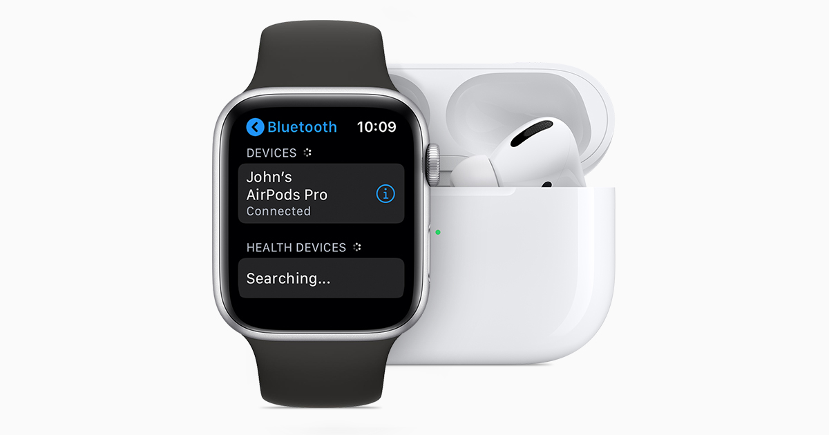 Use AirPods and other Bluetooth accessories with Apple Watch ...