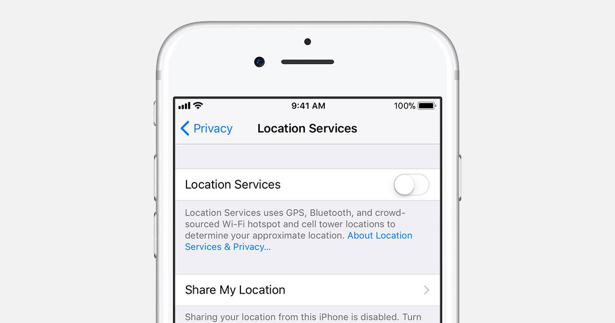 Anleitung: GPS-Empfänger des iPhones deaktivieren