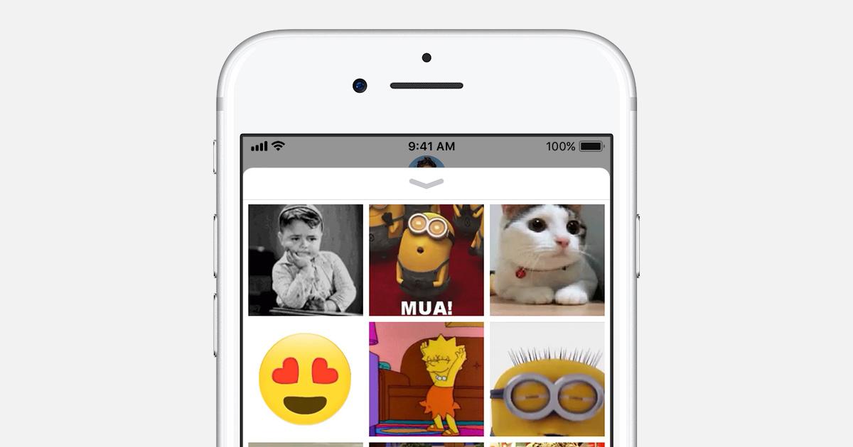 Envoi Et Enregistrement De Fichiers Gif Sur Votre Iphone Ipad Ou