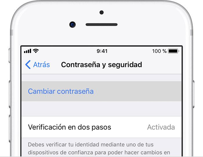 Como recuperar la contraseña de icloud iphone 5s