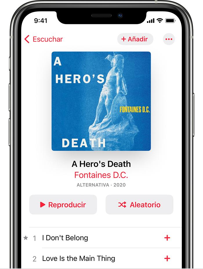 Agregar Y Descargar Música En Apple Music Soporte Técnico De Apple