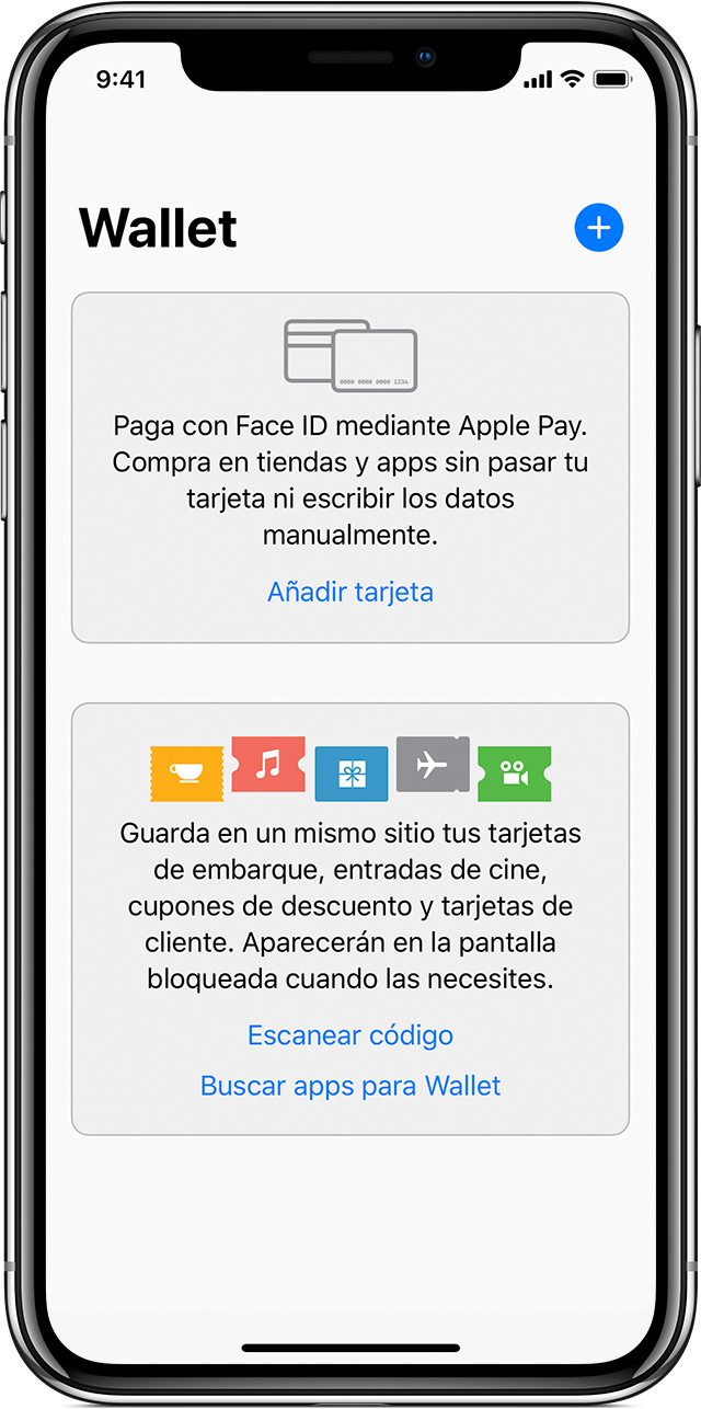 App Wallet del iPhone