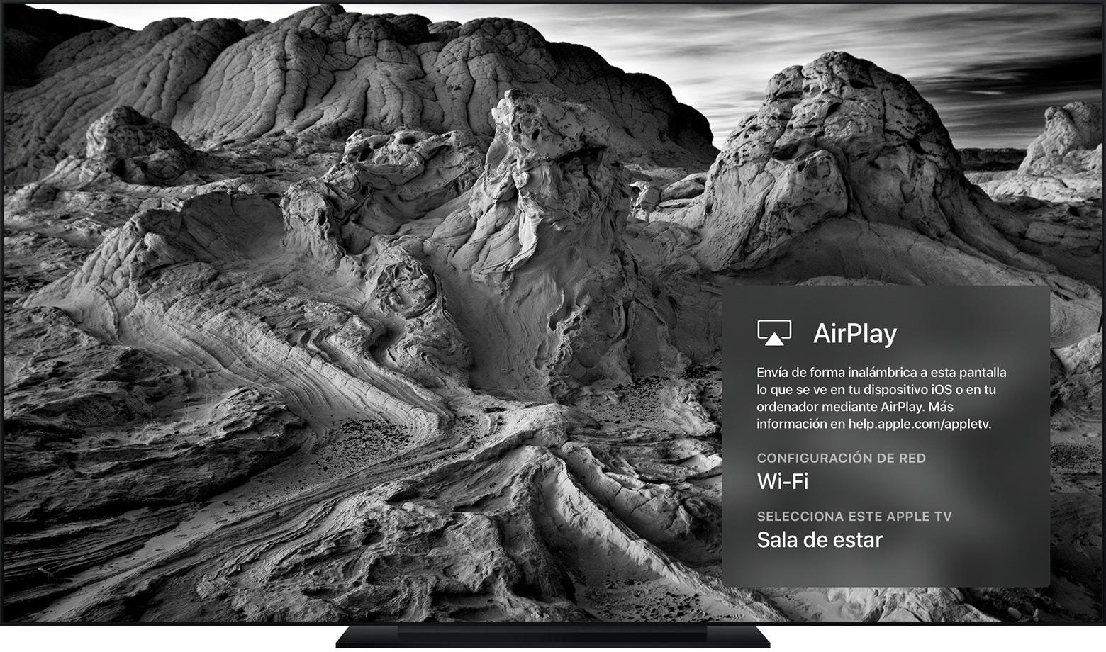 Gestionar los ajustes de AirPlay en el Apple TV - Soporte