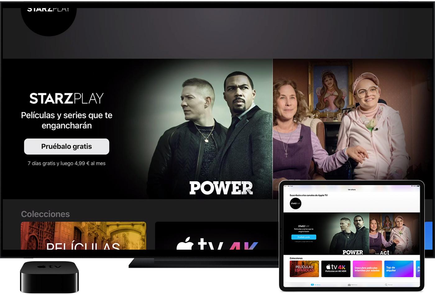 0ce477fa61a Busca un canal en la app Apple TV para ver películas, series y otro  contenido que puedas ver con una suscripción. El precio varía por canal.