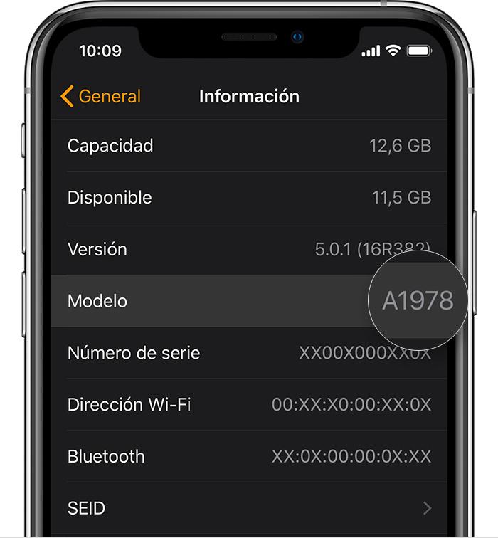 Identificar Tu Apple Watch Soporte Tecnico De Apple