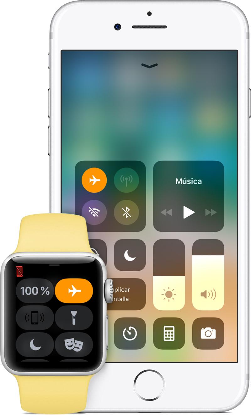 Utilizar el modo Avión en el iPhone, el iPad, el iPod touch y el ...
