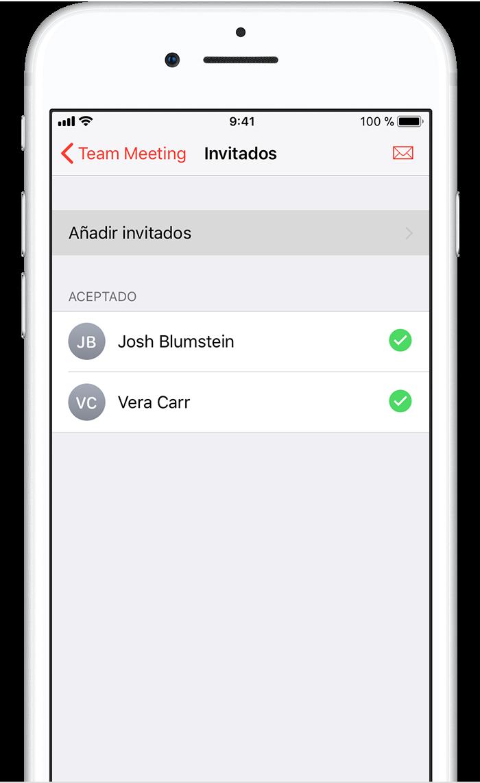 Anadir Calendario Iphone.Gestionar Invitaciones A Reuniones De Exchange En El Iphone