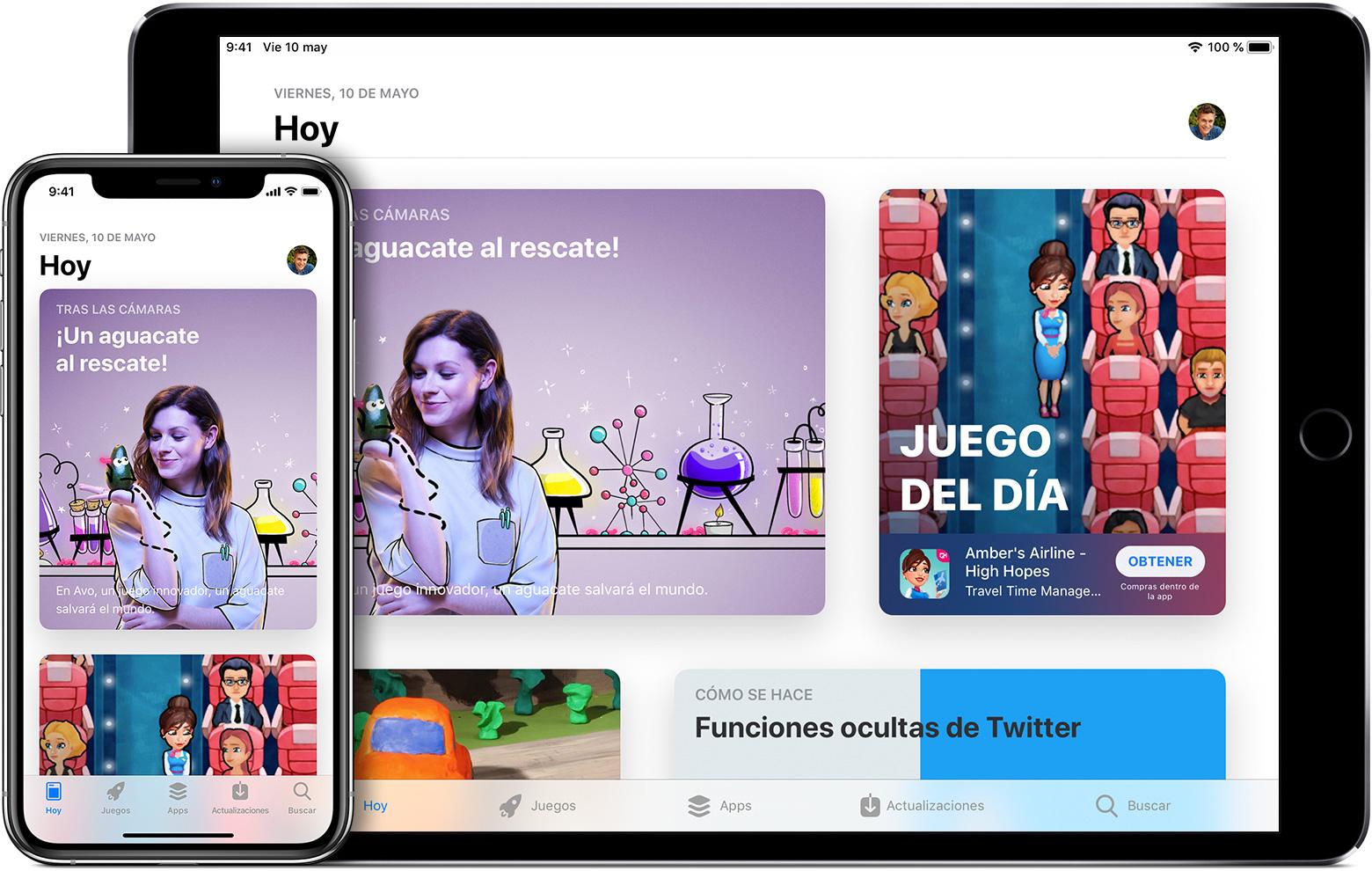 Descargar apps y juegos del App Store - Soporte técnico de Apple
