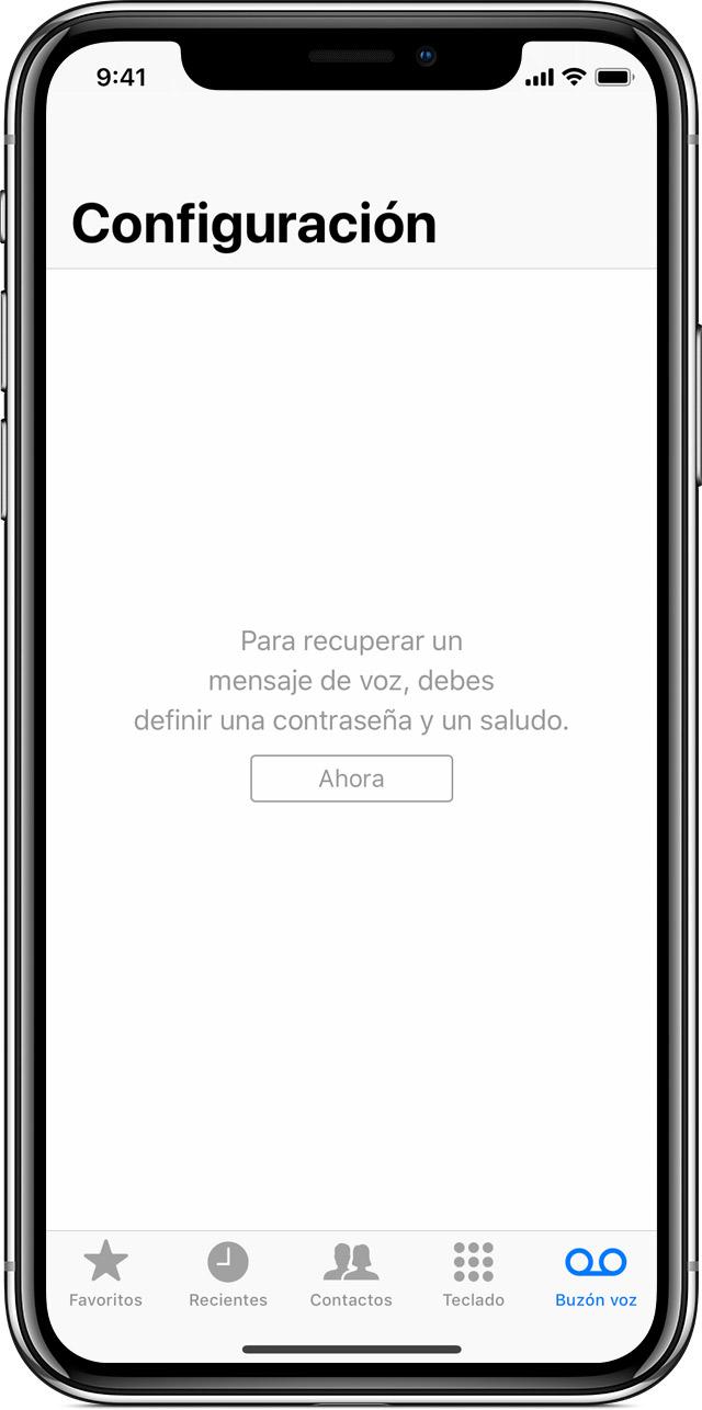 5b7c322b671 Configurar el buzón de voz visual en el iPhone - Soporte té ...