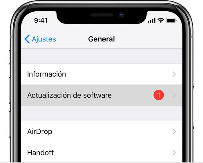 Iphone 7 Plus yazilim guncelleme yok