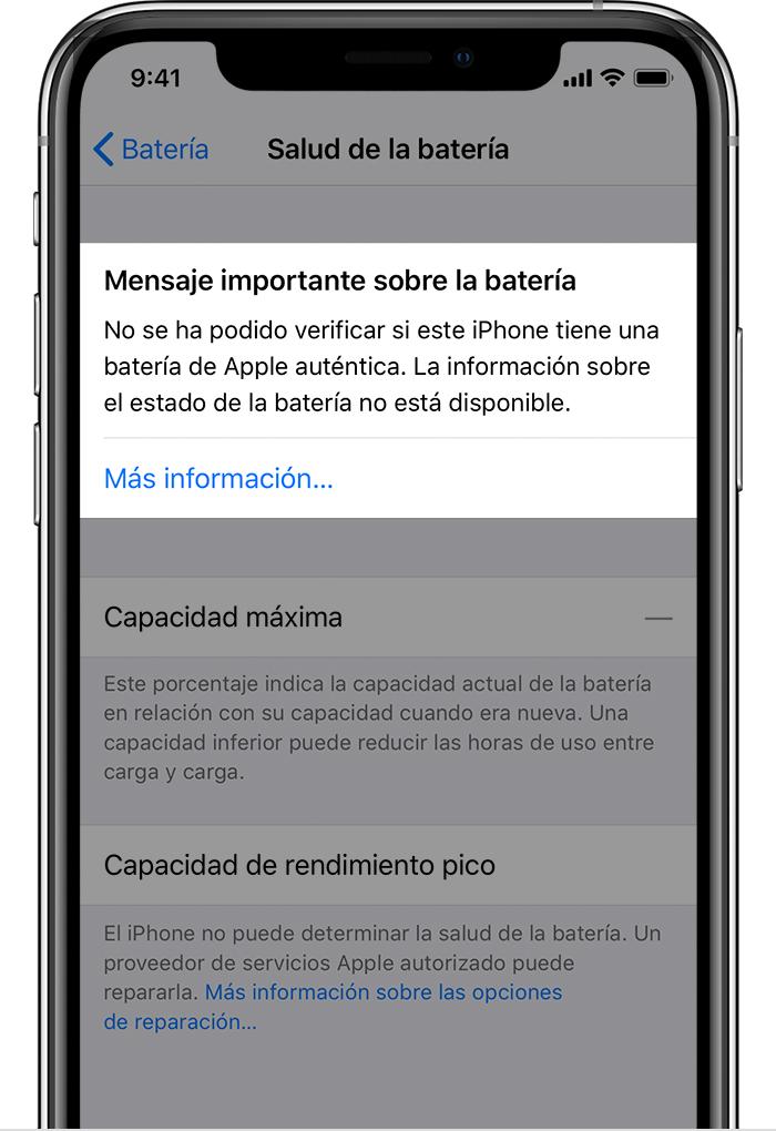 3fe79cb2fda Batería y rendimiento del iPhone - Soporte técnico de Apple