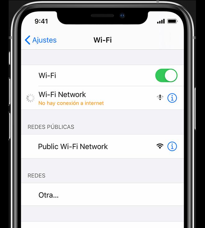Si Tu Iphone Ipad O Ipod Touch No Se Conecta A Una Red Wi Fi Soporte Técnico De Apple
