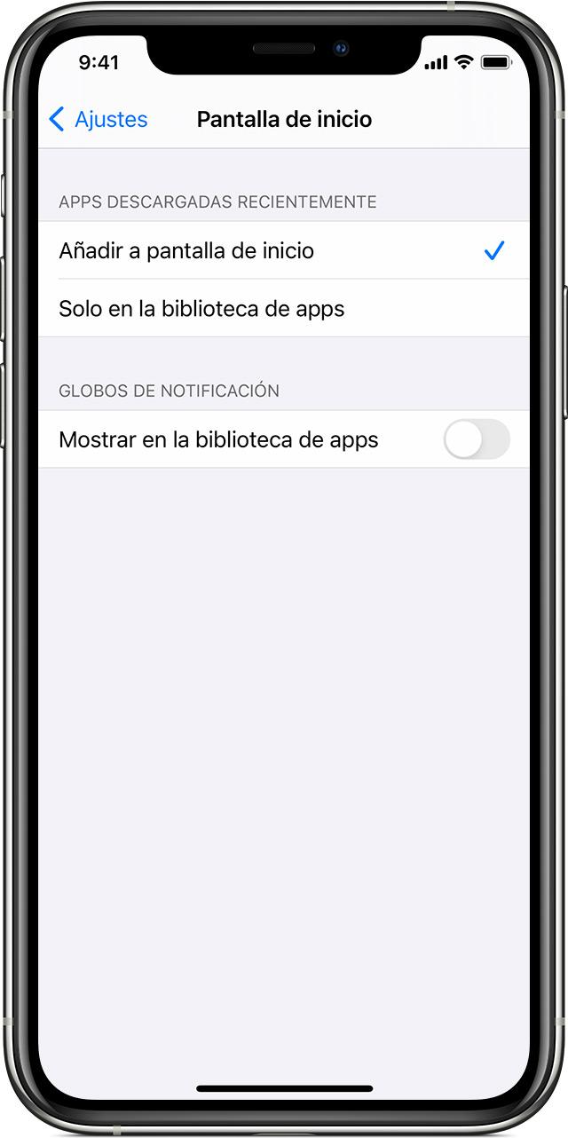 iPhone en el que se muestra dónde descargar apps en tu dispositivo