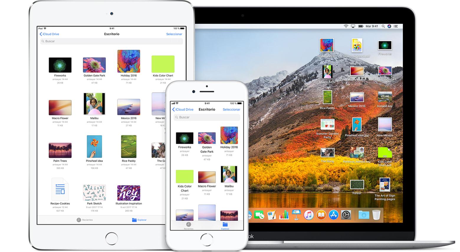 Agregar archivos de Escritorio y Documentos a iCloud Drive ...