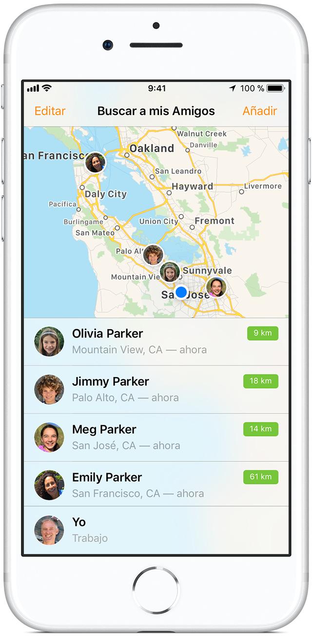 como localizar un iphone sin que la otra persona se entere