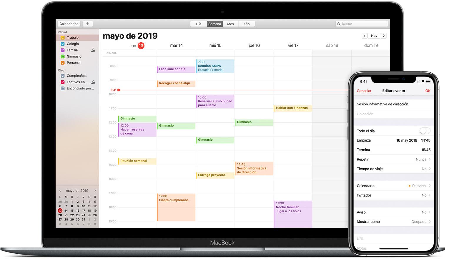 Abre Mi Calendario.Mantener Tu Calendario Actualizado Con Icloud Soporte