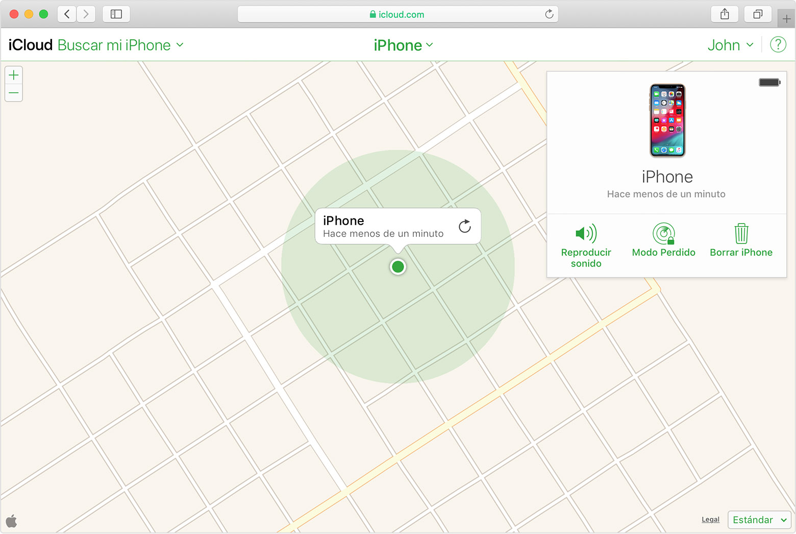 como localizar iphone 6 sin icloud