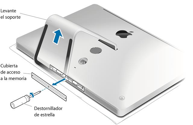 Imagen de la web de soporte de apple